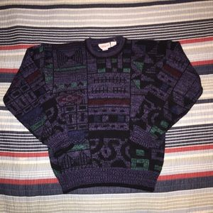 Vintage Campus Multicolor Sweater